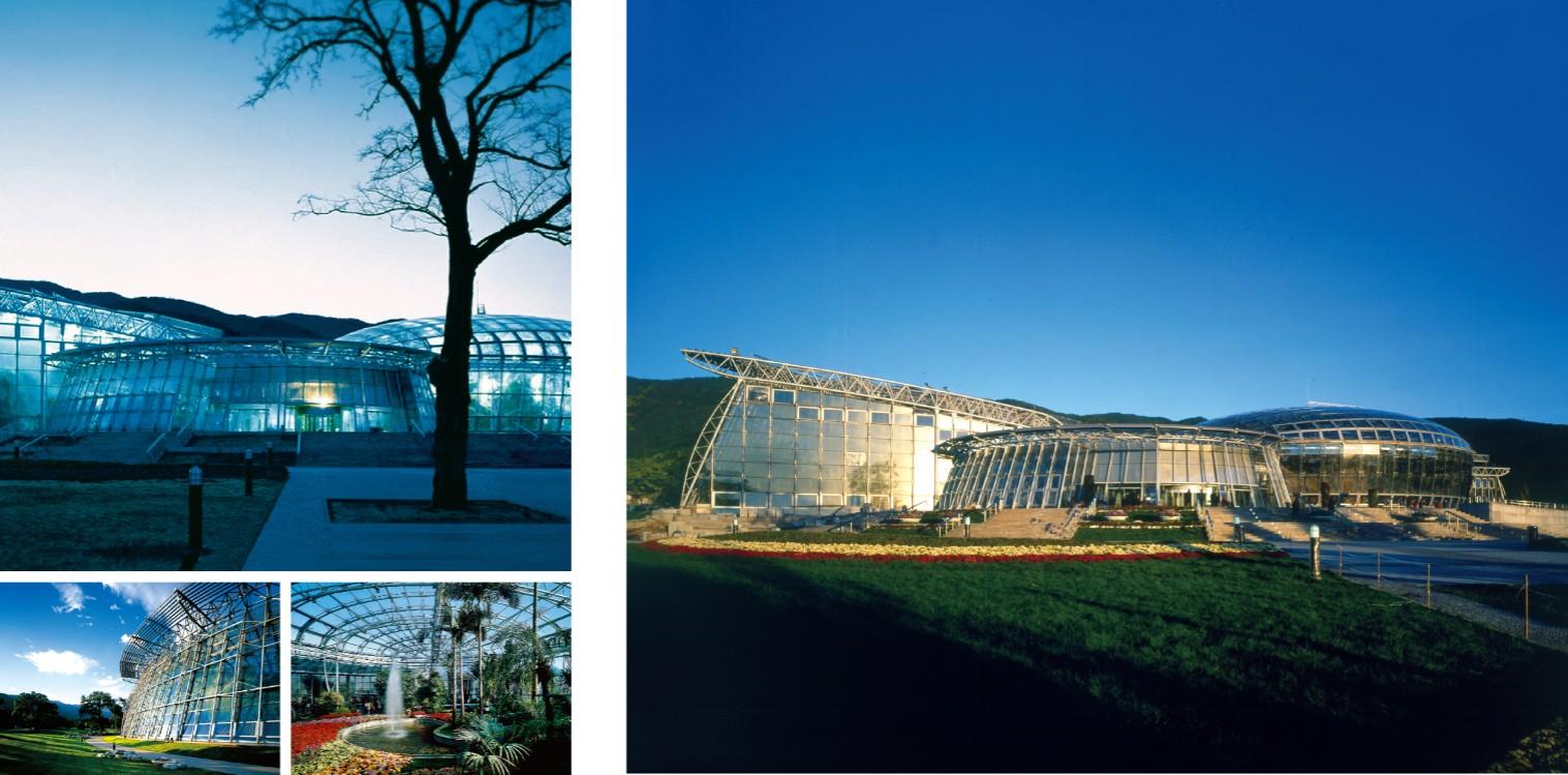 北京植物园展览温室